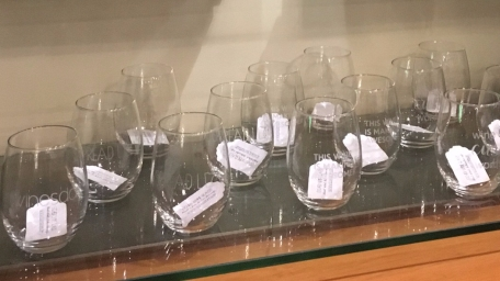 Wine glasses for sale at Kai Salon